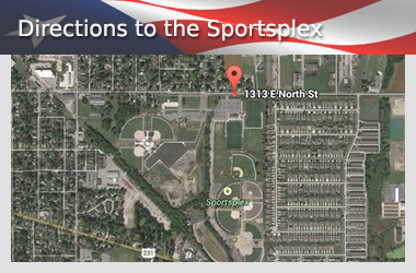 Directions to the Crown Point Sportsplex